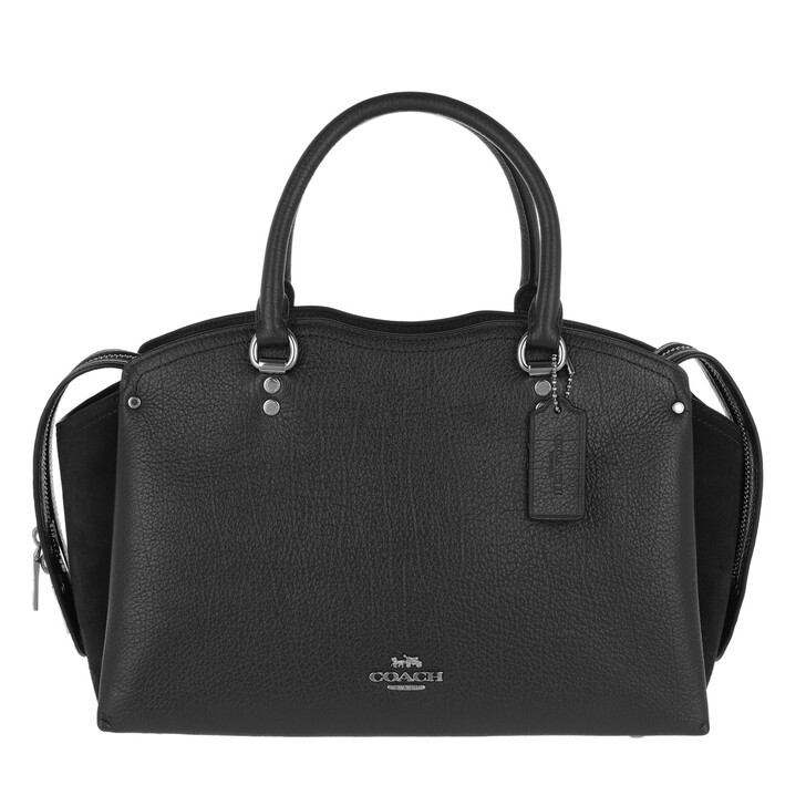 Handtasche, Coach, Womens Bags Satchels  Black
