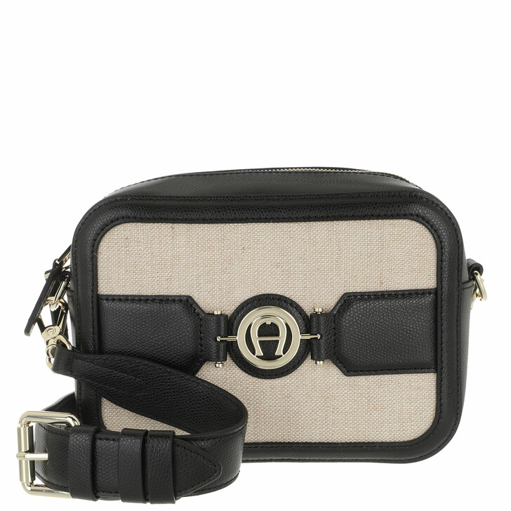 Handtasche, AIGNER, Handle Bag Black