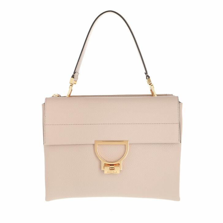 bags, Coccinelle, Arlettis Handbag Grainy Leather  Powder Pink