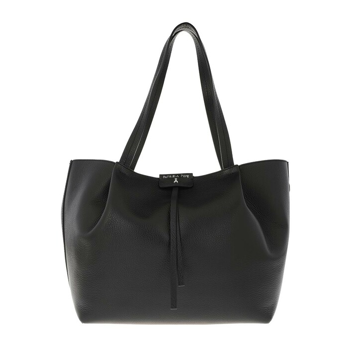 Handtasche, Patrizia Pepe, Shopping Bag Nero