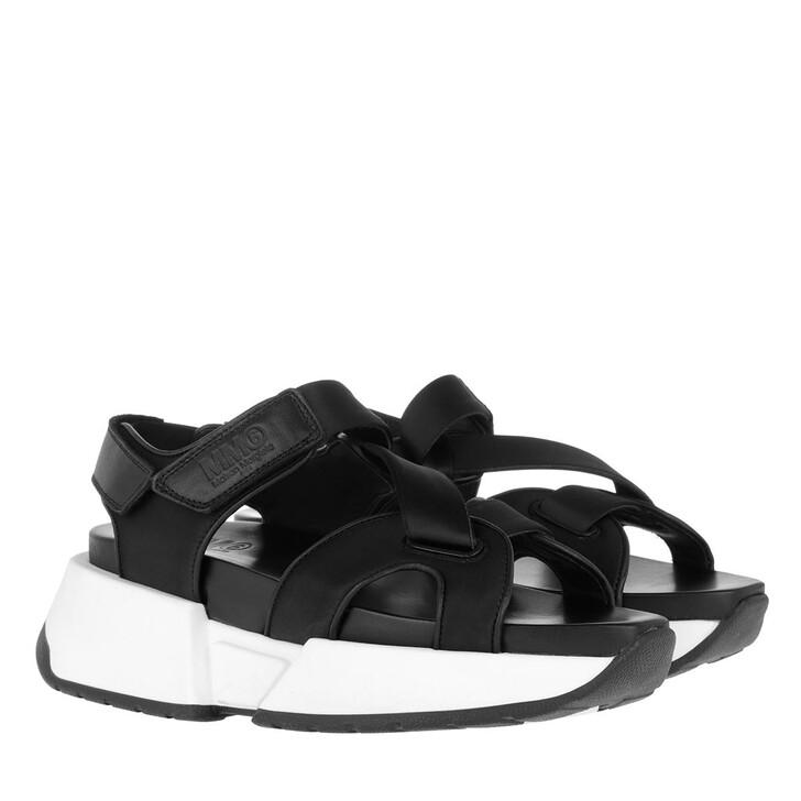 Schuh, MM6 Maison Margiela, Sandals Black