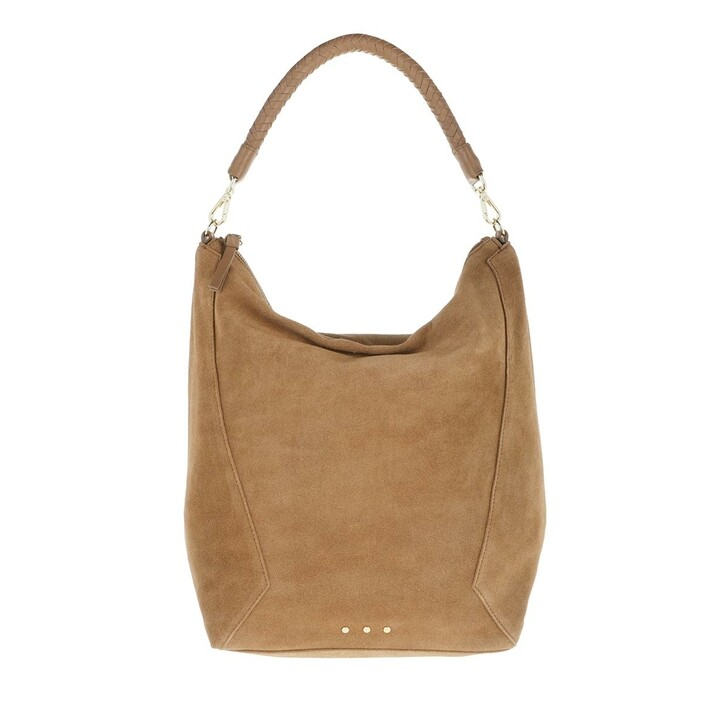 Handtasche, Becksöndergaard, Suede Everly Bag Brownie