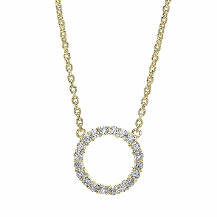 necklaces, Sif Jakobs Jewellery, Biella Grande Necklace 18K Yellow Gold Plated