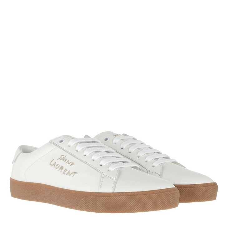 Schuh, Saint Laurent, Sneaker Leather Optic White
