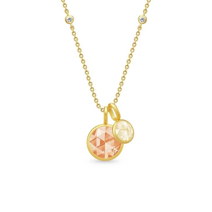 necklaces, Julie Sandlau, Cocktail Necklace Gold/Lemon
