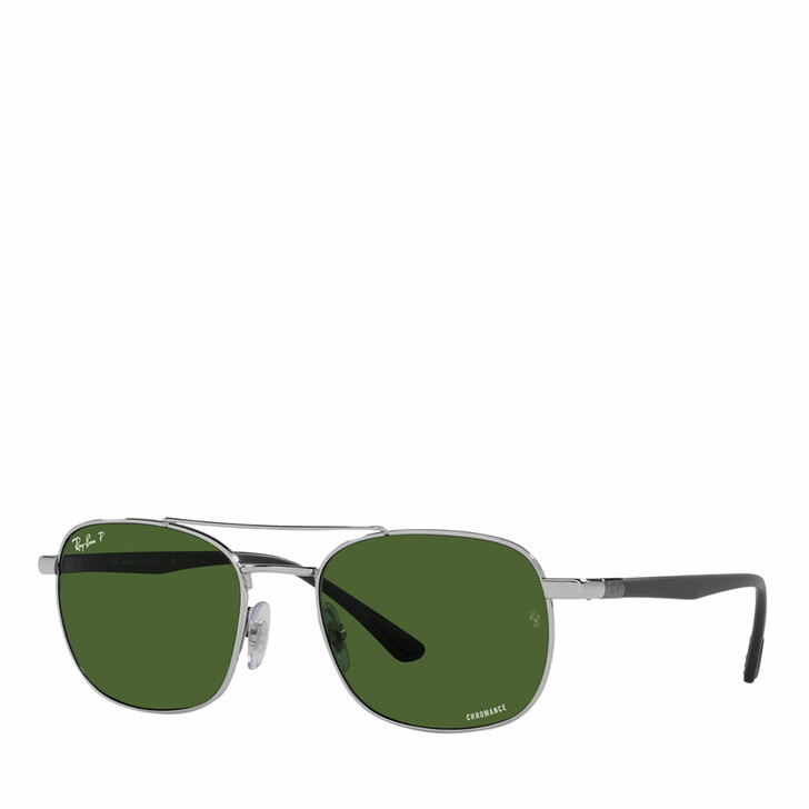 Sonnenbrille, Ray-Ban, 0RB3670CH SILVER