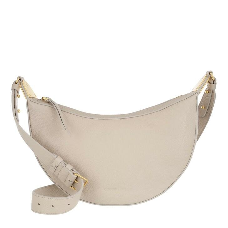bags, Coccinelle, Anais Crossbody Bag Lambskin White