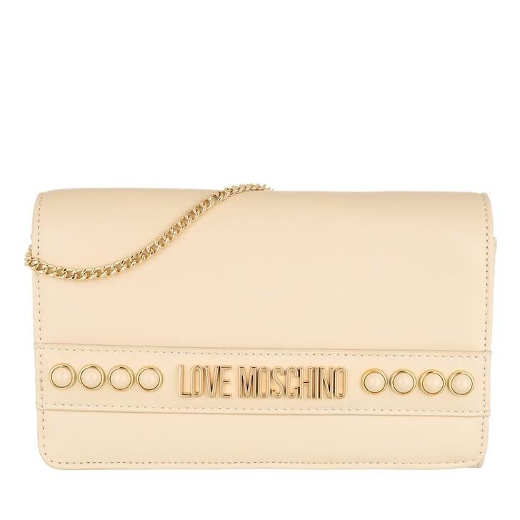 Handtasche, Love Moschino, Borsa Nappa Pu  Avorio