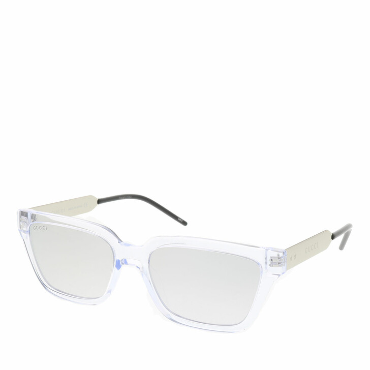 Sonnenbrille, Gucci, GG0975S-002 55 Sunglass MAN INJECTION CRYSTAL