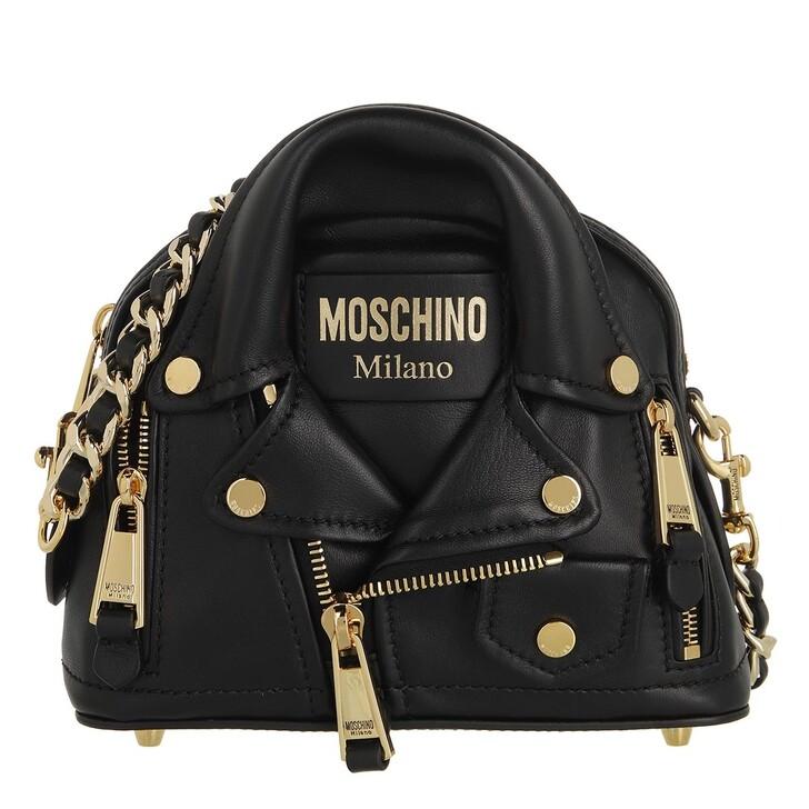 bags, Moschino, Borsa Tracolla Fantasia Nero