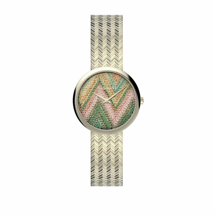 Uhr, Missoni, Watch M1 34 MM (Y2) Champagne/Rose