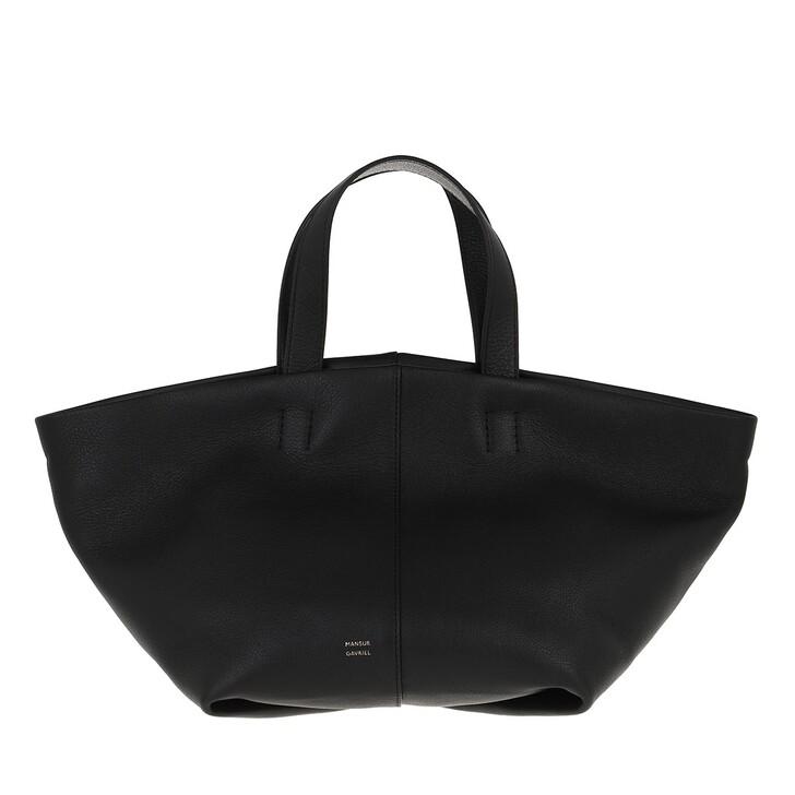 Handtasche, Mansur Gavriel, Shopping Bag Leather Black