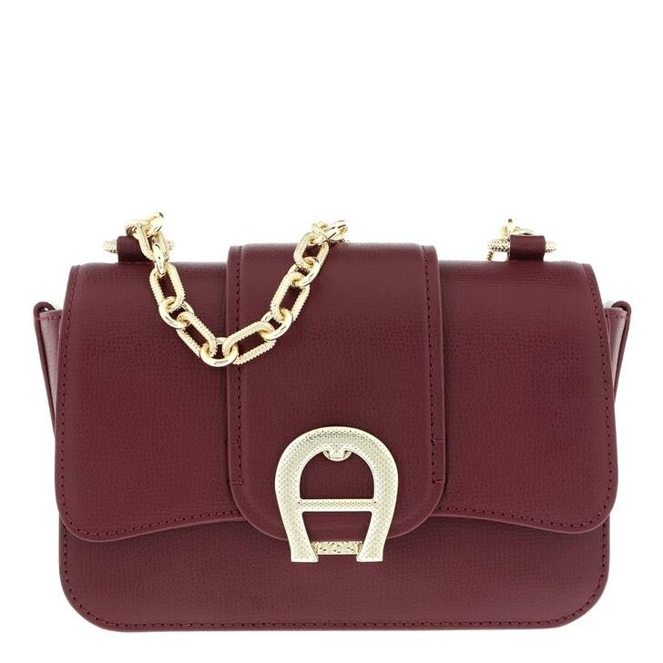 Handtasche, AIGNER, Verona Handle Bag Burgundy
