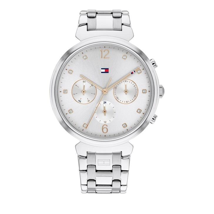 watches, Tommy Hilfiger, Quarz Watch Silver