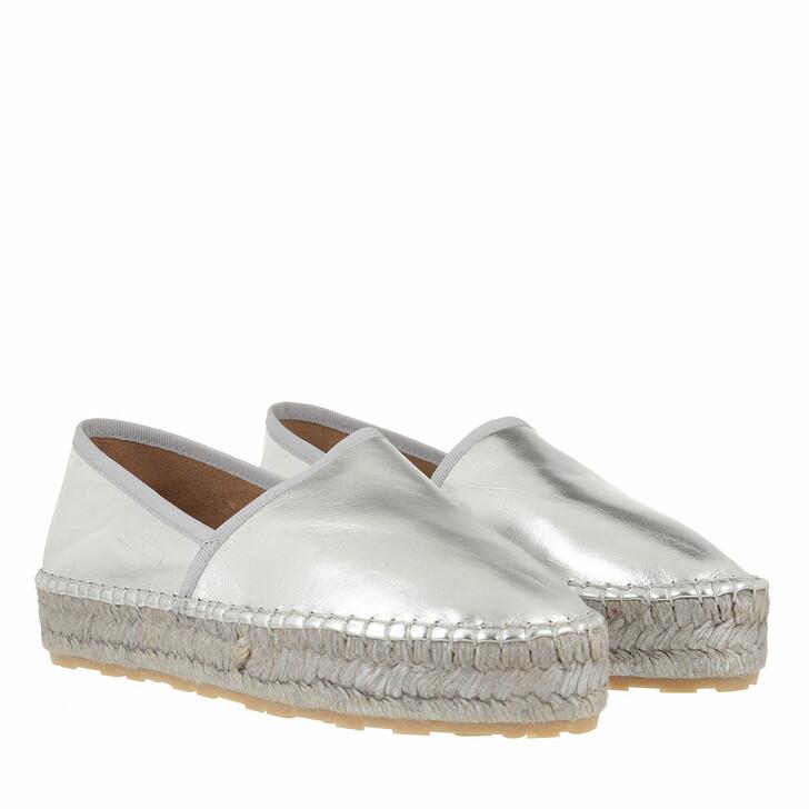 Schuh, Love Moschino, Shoe Espa35 Laminato  Argento