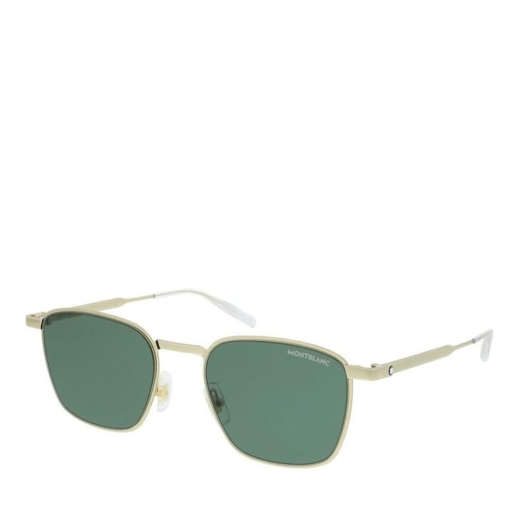 Sonnenbrille, Montblanc, MB0145S-002 51 Sunglass MAN METAL GOLD