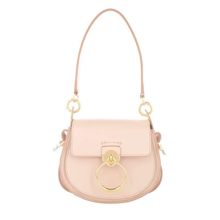 Handtasche, Chloé, Tess Shoulder Bag Small Leather Softy Pink