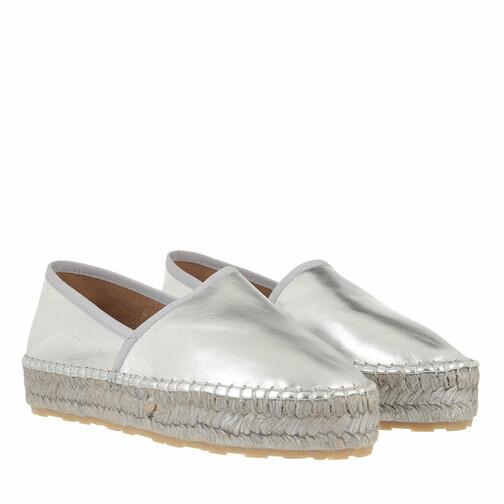 love moschino -  Loafers & Ballerinas - Shoe Espa35 Laminato - in silber - für Damen