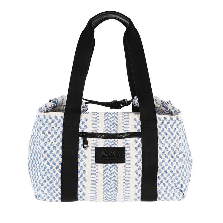 Reisetasche, Lala Berlin, Big Bag Muriel X-Stitch Palace Blue