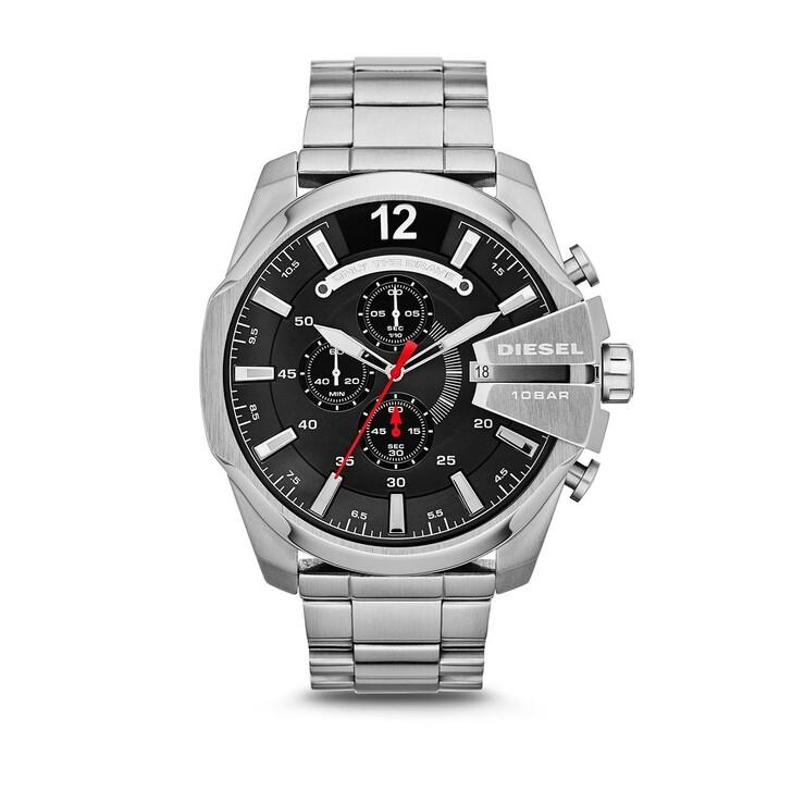 watches, Diesel, Watch Mega Chief DZ4308 Silver