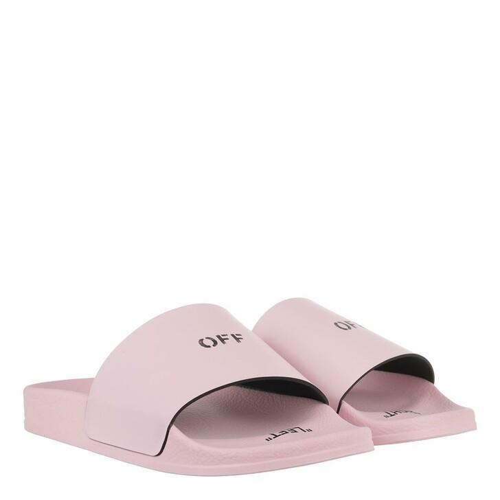 Schuh, Off-White, Pool Slider Pink