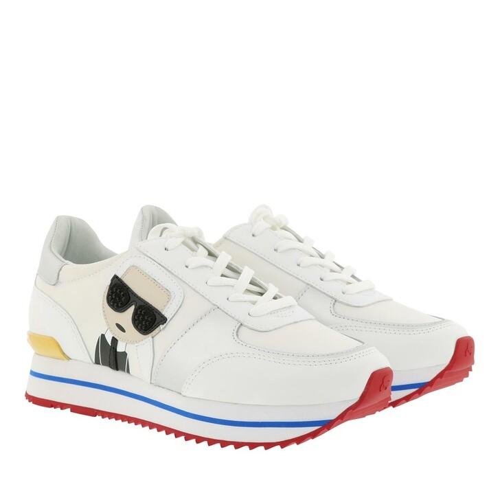Schuh, Karl Lagerfeld, Velocita Ikonic Meteor White Multi