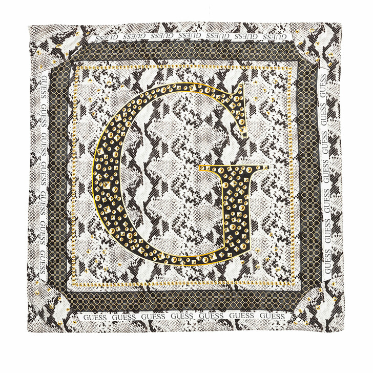 Schal, Guess, Kirby Printed Scarf Stone
