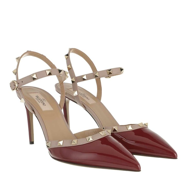 Schuh, Valentino, Sling Back Pumps Cerise/Poudre