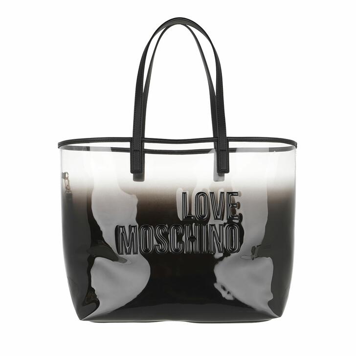 Handtasche, Love Moschino, Borsa Pvc+Pu  Nero/Nero