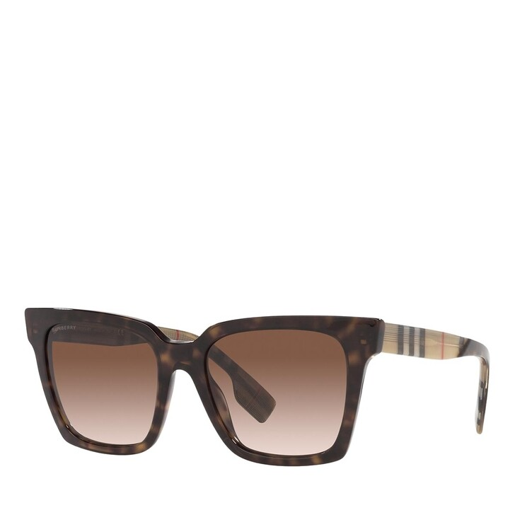 Sonnenbrille, Burberry, 0BE4335 DARK HAVANA