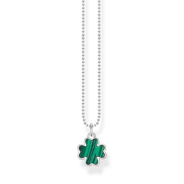 necklaces, Thomas Sabo, Necklace Cloverleaf Silver