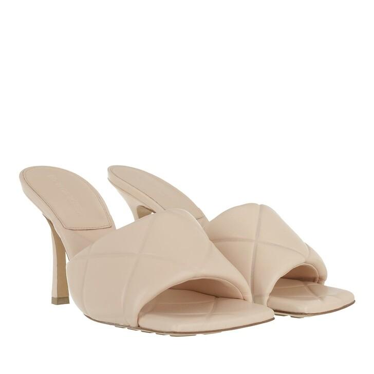 Schuh, Bottega Veneta, The Rubber Lido Sandals Leather Multicolor