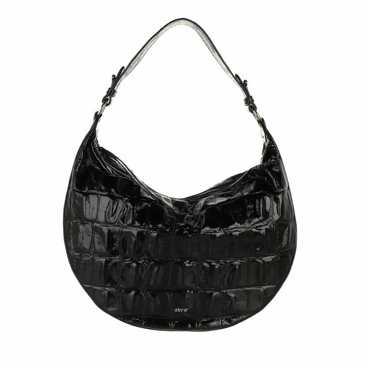 bags, Abro, Bucket LULU small  Black/Nickel