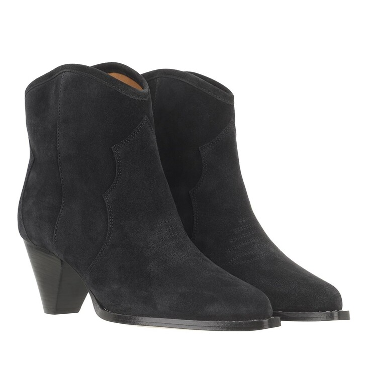 shoes, Isabel Marant, Darizo Ankle Boots Faded Black