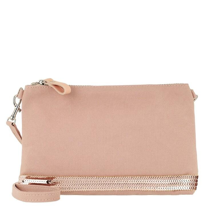 Handtasche, Vanessa Bruno, Epaule Pochette Or Rose