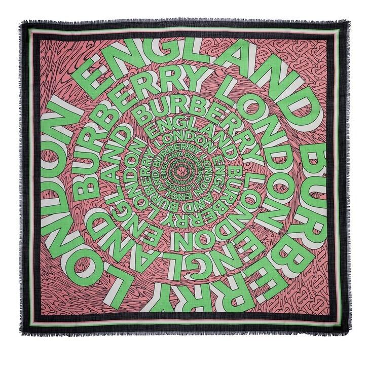Schal, Burberry, Logo Scarf Camelia Pink