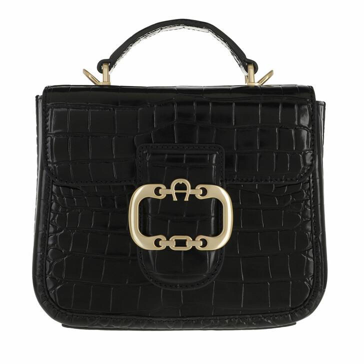 bags, AIGNER, Celia Handbag Black