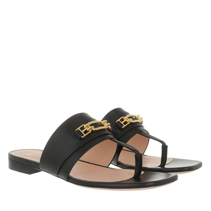 Schuh, Bally, Dorely Flat Sandals Black
