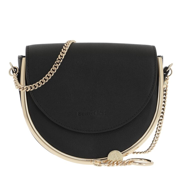 Handtasche, See By Chloé, Mara Crossbody Bag Leather Black