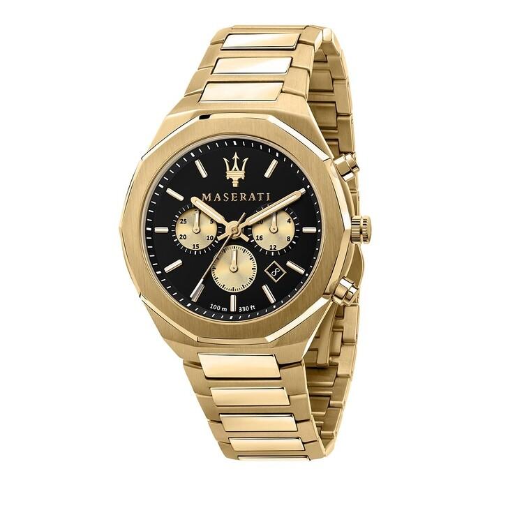 watches, Maserati, Stile 45mm gold