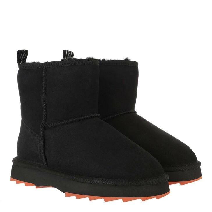 shoes, EMU Australia, Sharky Mini Black Crimson