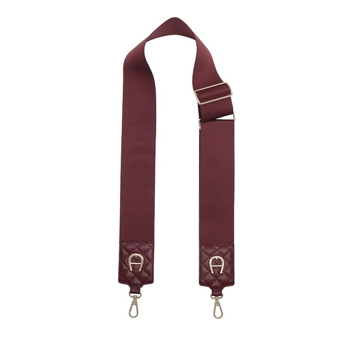 straps, AIGNER, Strap Burgundy