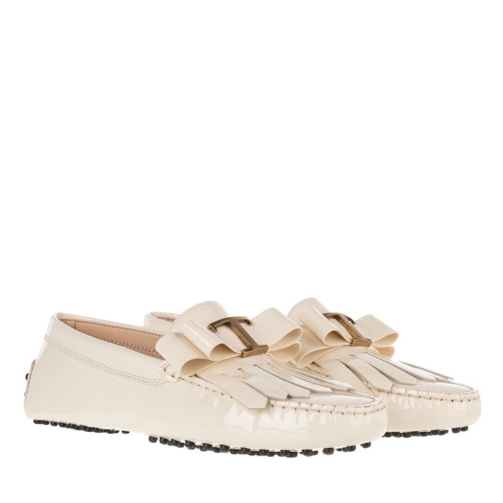 Schuh, Tod's, Gommino Loafer Creme