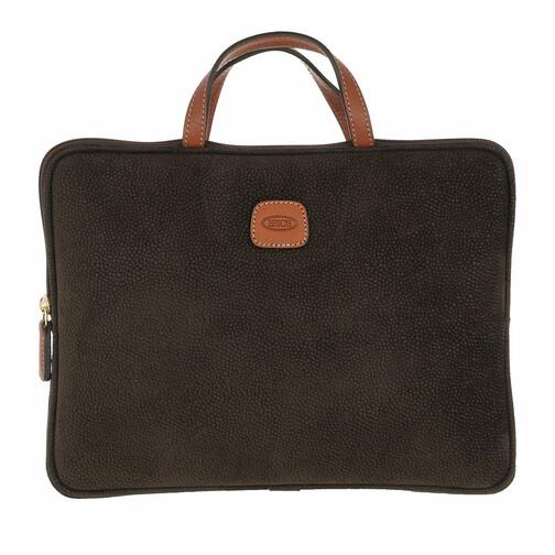bric's -  Laptoptaschen - Life Laptop Bag - in grün - für Damen