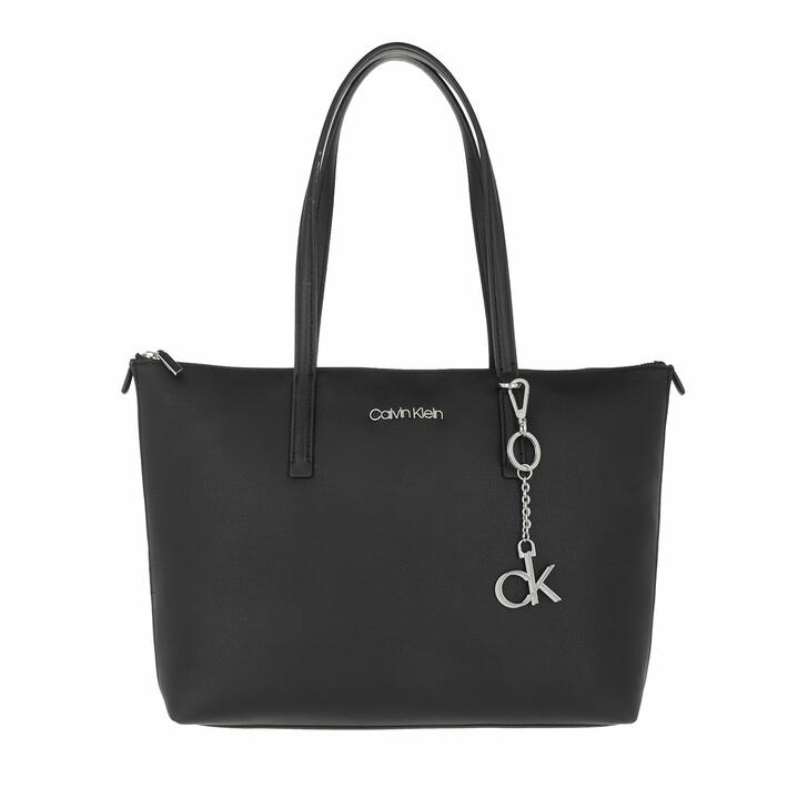 Handtasche, Calvin Klein, Medium Shopping Bag Black
