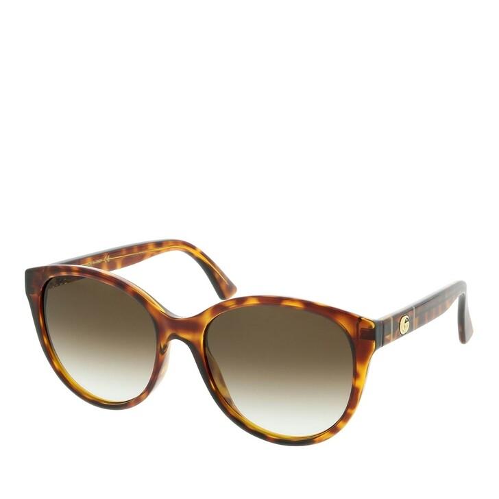 Sonnenbrille, Gucci, GG0631S-002 56 Sunglasses Havana-Havana-Brown
