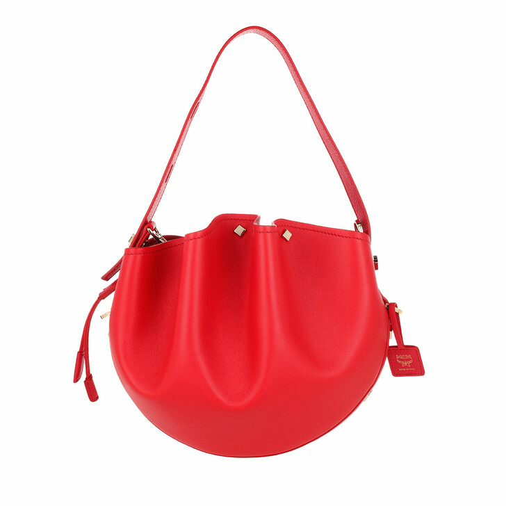 Handtasche, MCM, Candy Drawstring Small Chinese Red