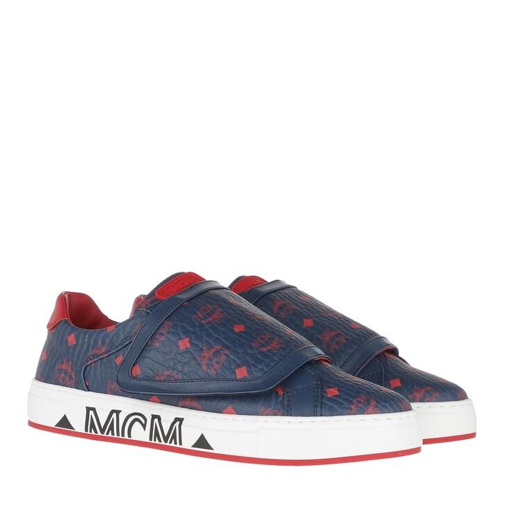 shoes, MCM, Milano Velcro Sneakers Deep Blue Sea