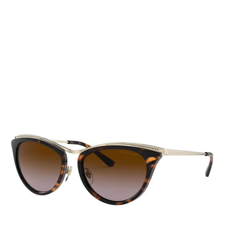 Sonnenbrille, Michael Kors, Women Sunglasses Modern Glamour 0MK1065 Light Gold