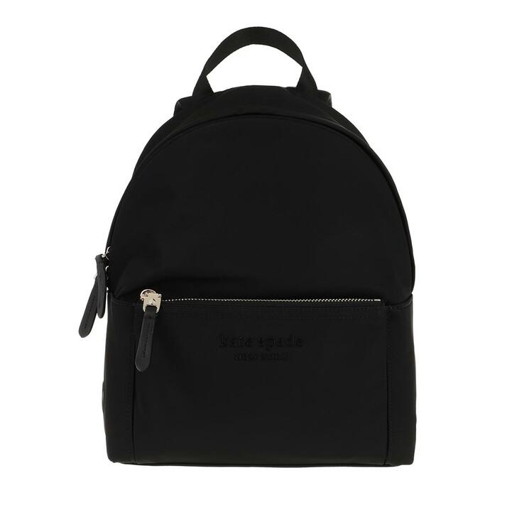 bags, Kate Spade New York, Nylon City Pack Medium Backpack Black